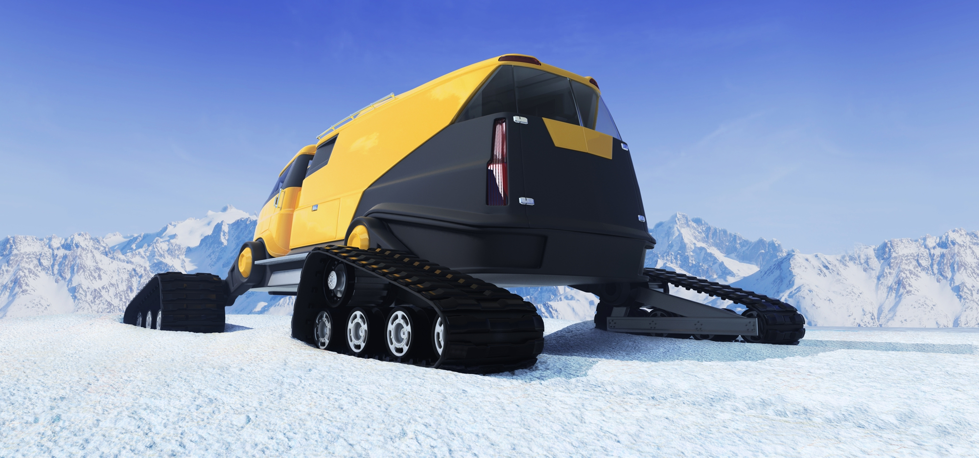Snow Response Vehicle